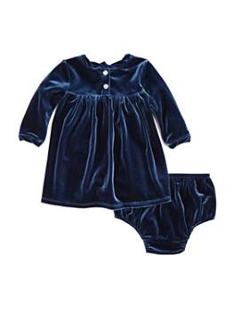 Splendid - Girls' Velour Dress & Bloomers Set - Baby