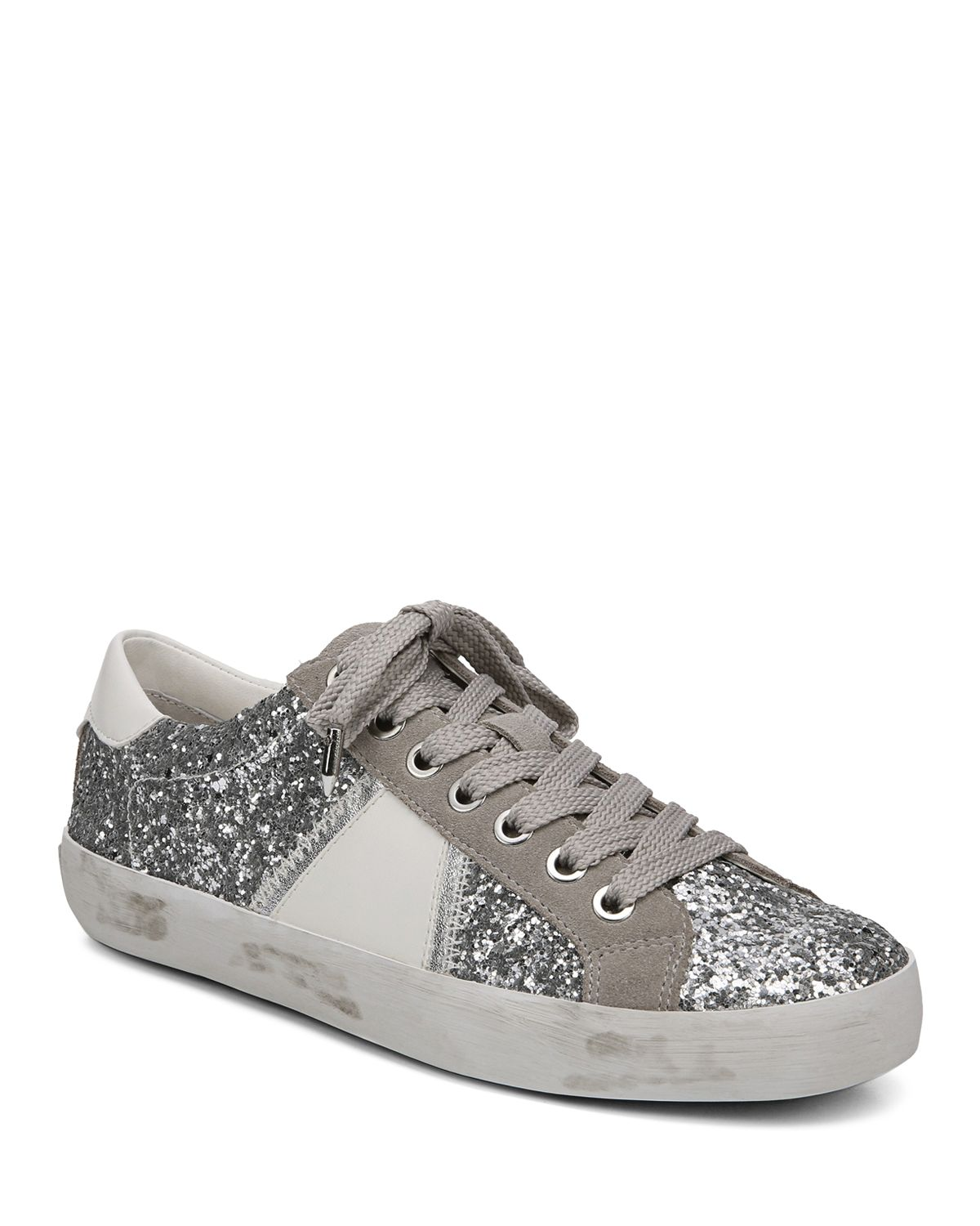 Sam Edelman Baylee Women's Suede Low Top Lace Up Sneakers