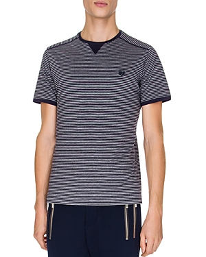 The Kooples Jersey and Stripes Tee