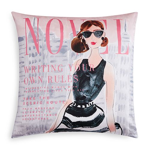 """kate spade new york - Write Your Own Rules Decorative Pillow, 20"""" x 20"""""""