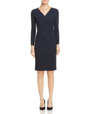 Emporio Armani Ruched-Waist Dress