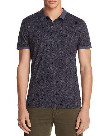 BOSS - Patterned Short Sleeve Polo Shirt