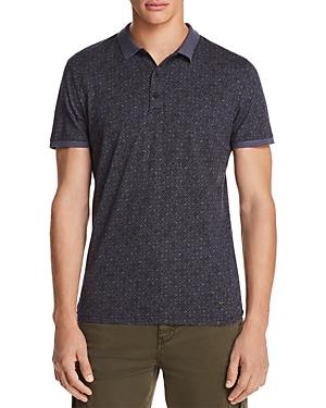Boss Orange Patterned Short Sleeve Polo Shirt