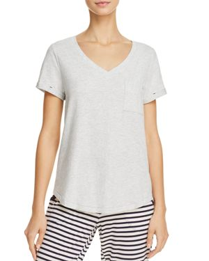 JANE & BLEECKER NEW YORK SHORT SLEEVE V-NECK TEE