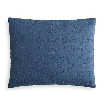 "Sky - Ines Piece Dyed Foulard Decorative Pillow, 16"" x 20"" - 100% Exclusive"