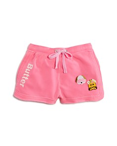 Butter Girls' Fleece Shorts with Patches - Big Kid - Bloomingdale's_0