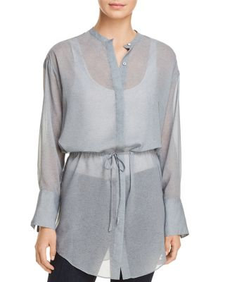 Tunic with Drawstring-Waist
