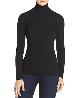 Tory Burch Jade Ribbed Turtleneck Sweater