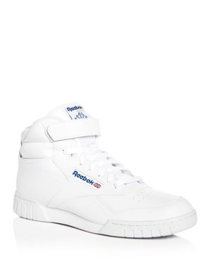 Reebok Men's Ex-o-Fit Leather High Top Sneakers 2729386