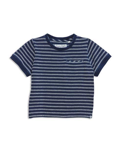 Sovereign Code - Boys' Textured Striped Tee - Big Kid