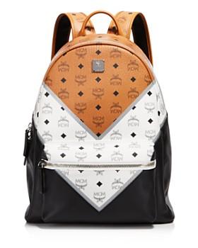 MCM - Chevron Visetos Backpack - 100% Exclusive