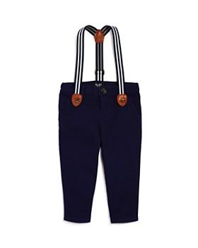 Bardot Junior - Boys' Chinos with Striped Suspenders - Baby