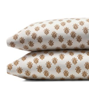 DwellStudio Flame Paisley Standard Pillowcase, Pair