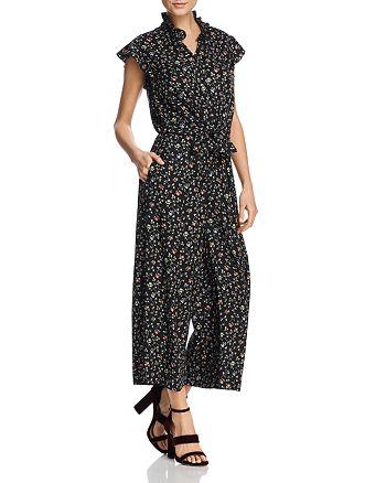 Rebecca Taylor - Printed Silk Jumpsuit