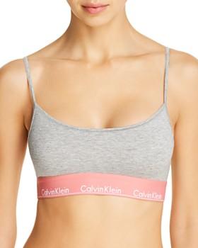Calvin Klein - Modern Cotton Unlined Bralette & Bikini