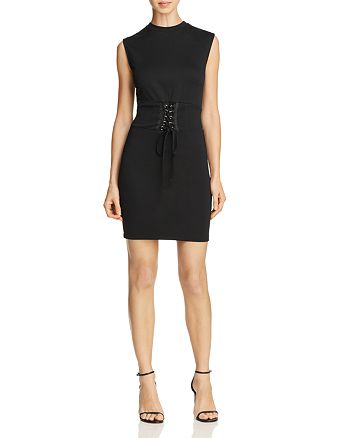 Bardot - Corset Detail Dress
