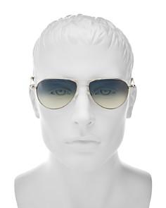 Oliver Peoples - Men's Benedict Aviator Sunglasses, 59mm