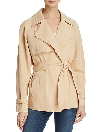 FRAME - Cropped Trench Coat