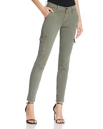 FRAME - Le Service Cargo Skinny Pants in Platoon