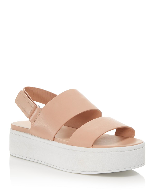 Vince Women's Westport Leather Platform Sandals - 100% Exclusive saUyiZ