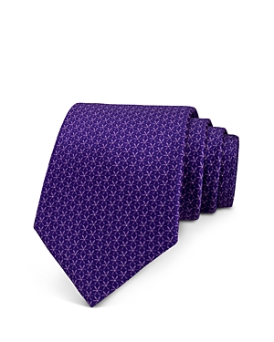 The Men's Store at Bloomingdale's Mini Floral Neat Print Classic Tie - 100% Exclusive
