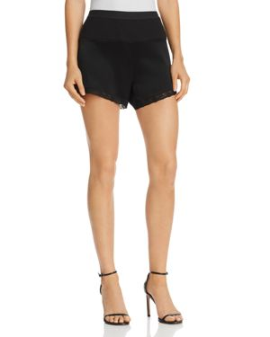 T by Alexander Wang Lace-Trimmed Shorts