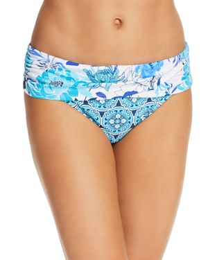 BLEU ROD BEATTIE SARONG HIPSTER BIKINI BOTTOM