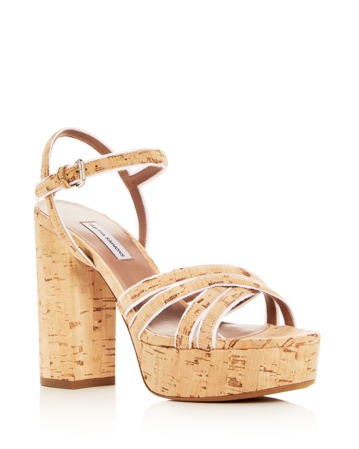 Women's Hensley Cork Platform High Heel Sandals by Tabitha Simmons