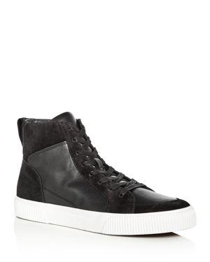 Vince Men's Kameron Leather & Suede High Top Sneakers 2801506