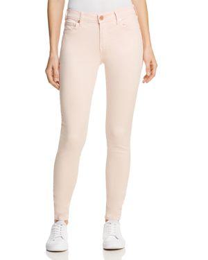 Jennie Curvy Skinny Jeans In Washed Peony