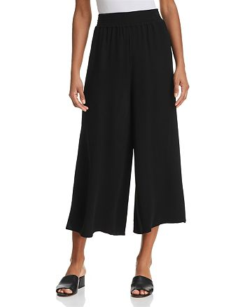 FRENCH CONNECTION - Hiva Wide-Leg Cropped Pants