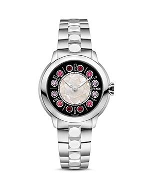 Fendi IShine Rotating Gemstones Watch, 38mm at Bloomingdale's