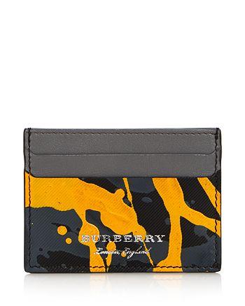 Burberry - Trench Leather Splatter Sandon Card Case