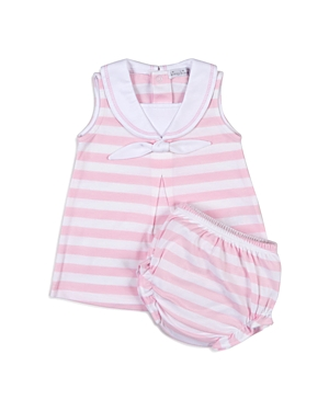 Kissy Kissy Girls' Striped Dress & Bloomers Set - Baby