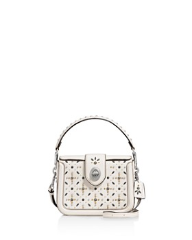 COACH - Page Prairie Rivets Leather Crossbody