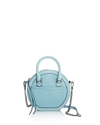 Rebecca Minkoff - Bree Circle Leather Crossbody - 100% Exclusive