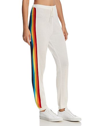 Spiritual Gangster - x Madeleine Thompson Rainbow Sweatpants