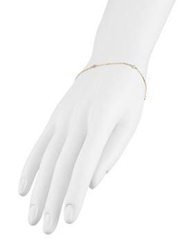 AQUA - Sterling Silver Thin Chain Bracelet - 100% Exclusive