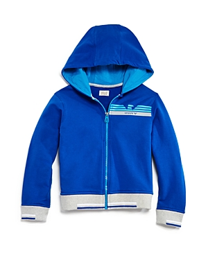 Armani Junior Boys ZipUp Hoodie  Little Kid Big Kid