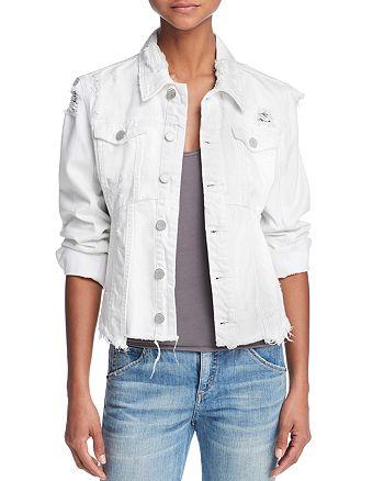 BLANKNYC - Frayed Distressed Denim Jacket