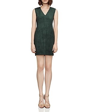 Bcbgmaxazria Malina Faux-Suede Mini Dress