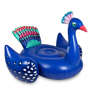 Sunnylife Peacock Inflatable Ride-On Float