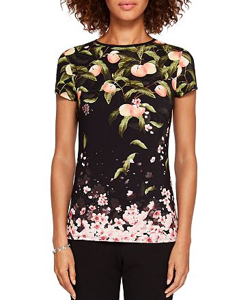 Ted Baker - Delilee Peach Blossom Tee