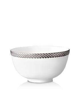 L'Objet - Corde Platinum Cereal Bowl