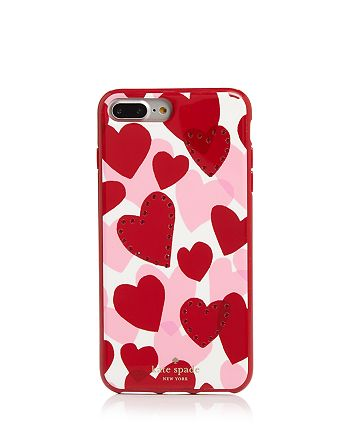 kate spade new york - Jeweled Heart iPhone 7 and 8 Plus Case