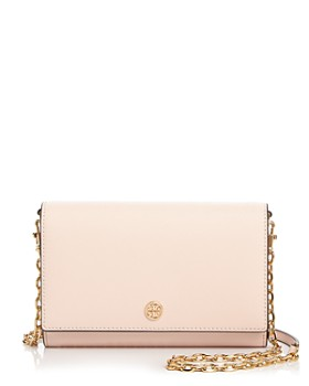 6649311dca8 Tory Burch - Robinson Leather Chain Wallet ...