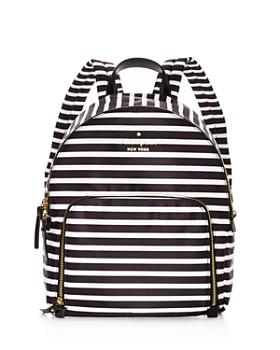 kate spade new york - Watson Lane Hartley Striped Nylon Backpack