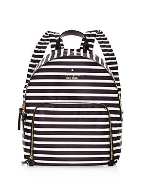 kate spade new york Watson Lane Hartley Striped Nylon Backpack