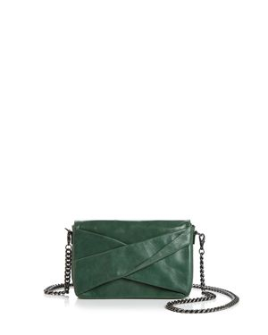 Halston Heritage Grace Small Bow Convertible Leather Crossbody 3113312