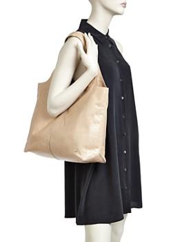 ... HALSTON HERITAGE - Tina Large Open Soft Leather Tote e6c1cd34e31ad